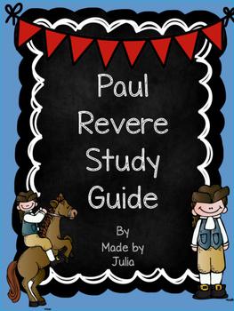 Paul Revere Study Guide