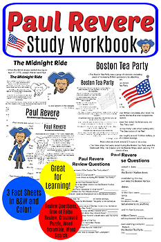 Paul Revere Study Workbook