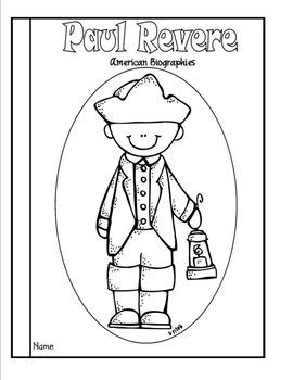 Paul Revere Tab Booklet