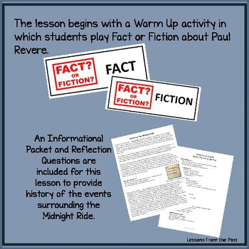 Paul Revere & The Midnight Ride - What is fact?  Illustrate the Midnight Ride