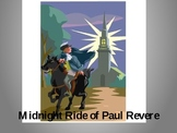 Paul Revere powerpoint one if land two if by sea poem