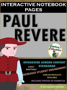 Paul Revere's Interactive Notebook Pages