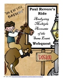 Paul Revere's Ride: Analyzing Multiple Accounts of the Same Event Webquest