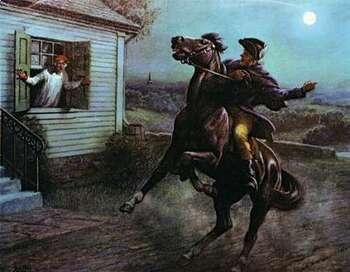 Paul Revere's Ride Lesson