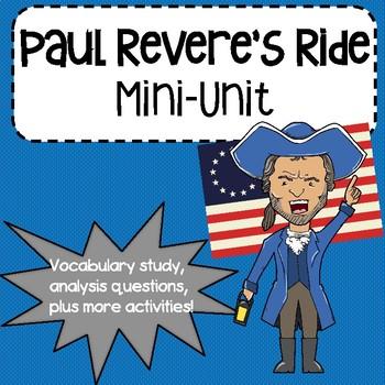 Paul Revere's Ride Mini-Unit