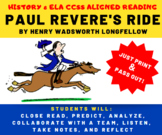 Paul Revere's Ride - Poem Critical Reading - Poetry & US History