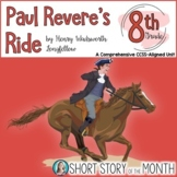 Paul Revere's Ride by Henry Wadsworth Longfellow Poetry Unit for 8th Grade