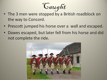 Paul Revere's Ride Powerpoint 24 slides with videoclip (power point)