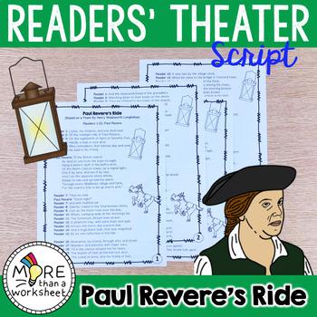 Paul Revere's Ride: Reader Theater Script