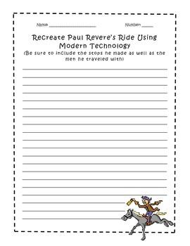Paul Revere's Ride - Recreation