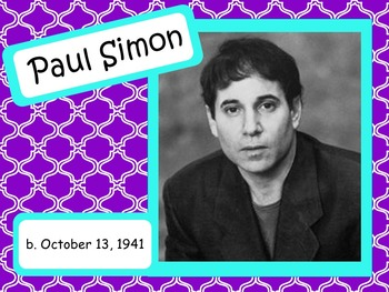 Paul Simon: Musician in the Spotlight