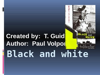 Paul Volponi's Black and White (Daily Reading Quizzes)