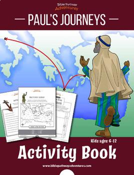Paul the Apostle Bible Activity Book