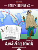 Paul's Journeys Bible Quiz Activity Book