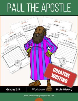 Paul the Apostle: Creative Writing & Coloring workbook