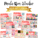 Paula Kim Studio Clip Art Catalog
