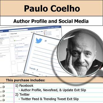 Paulo Coelho - Author Study - Profile and Social Media