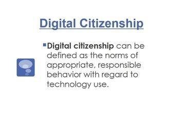 Digital Citizenship Lesson