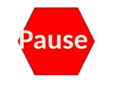 Pause, Breath, Smile Poster