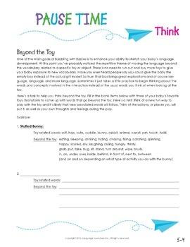 Early Intervention Parent Handout Unit: Pause Time