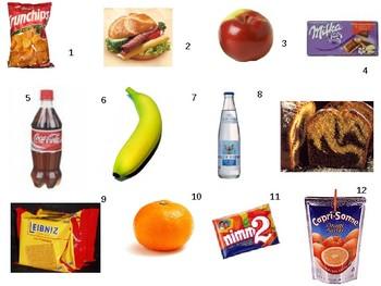 Pausenbrot / Snacks / Food / Break time