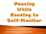 Pausing While Reading To Self Monitor Strategy PowerPoint