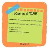 Pautas para alumnos/as con TDA y TDAH.