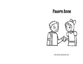 Pauvre Anne Comic Book