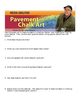Pavement Chalk Art Short Study Guide