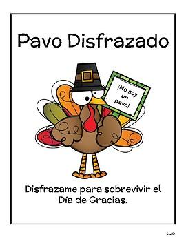 Proyecto de Día de Gracias - Pavo Disfrazado