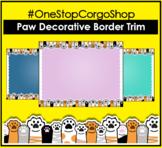 Paw Decorative Border Trim