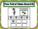 Paw Patrol 10 Token Board 10