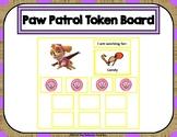 Paw Patrol 10 Token Board