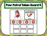 Paw Patrol 10 Token Board 5