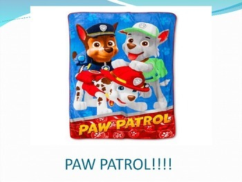 Paw Patrol FRY (Sight) Words Kindergarten List D Game