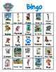 Paw Patrol Inspired Bingo/ Matching Game PDF