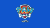 Paw Patrol Math - Basic Addition to 10