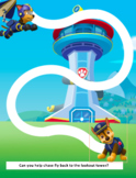 Paw Patrol Pencil Control, Writing and Drawing
