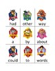 Paw Patrol Sight Word Cards (Fry's Word List 1-100)