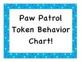 Paw Patrol Token Behavior Chart!