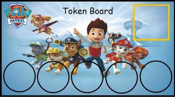 Paw Patrol Token Board