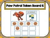 Paw Patrol 10 Token Board 6
