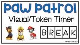 Paw Patrol Visual/Token Timer
