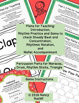 Paw Paw Patch Two Part Choral with Orff Mallet Accompaniment