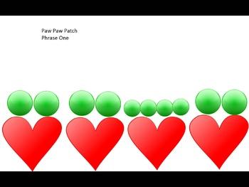Paw Paw Patch- Visual Representation- takadimi