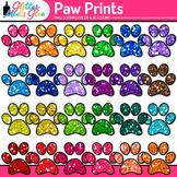 Paw Print Clip Art: Dog, Cat, and Pet Graphics {Glitter Meets Glue}