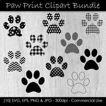 Paw Print Clip Art