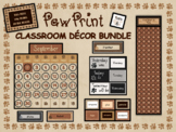 Paw Print Decor Bundle