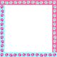 Paw Print Digital Paper - Borders