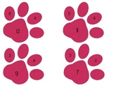 Paw Print Fact Families Center Plus